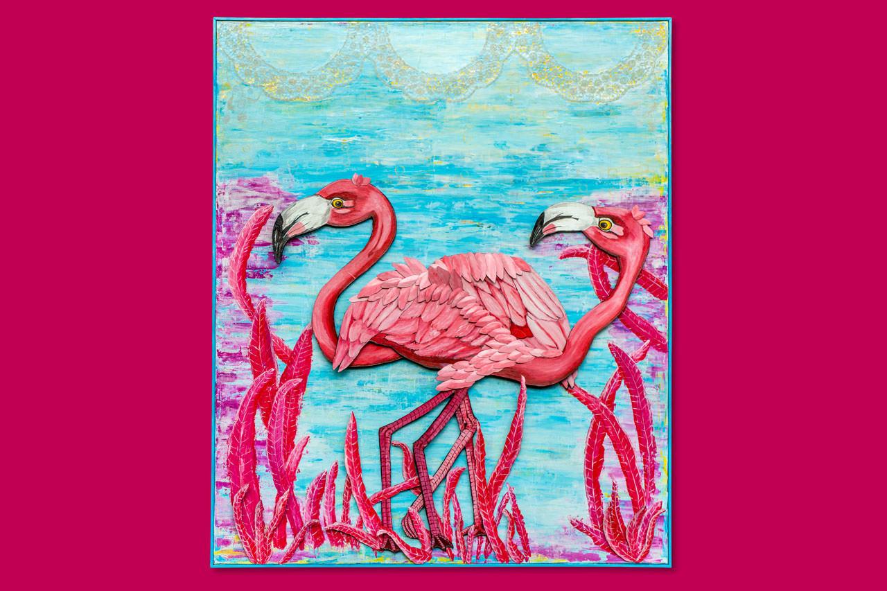 Flirty Flamingos oder Rosarote Zeiten