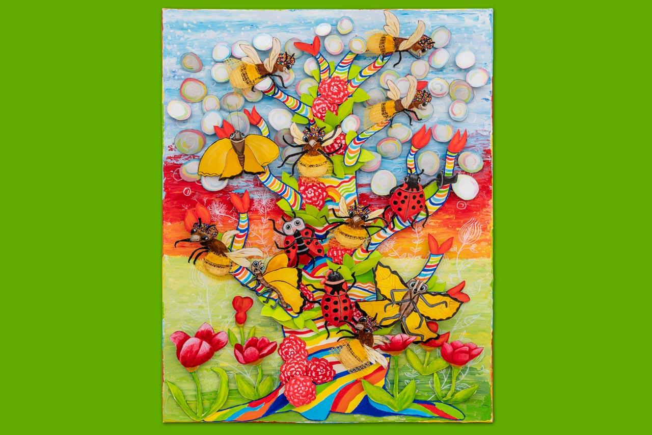 Baum der Lebensfreude